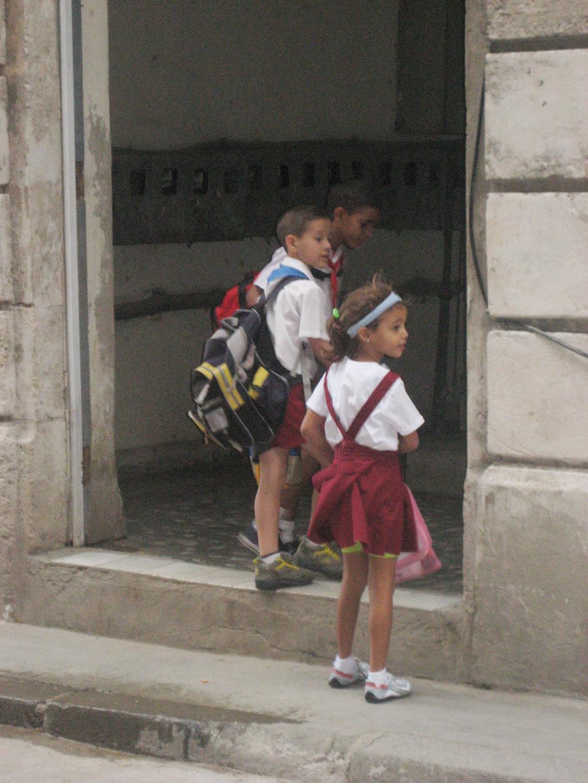 Cuba School Children