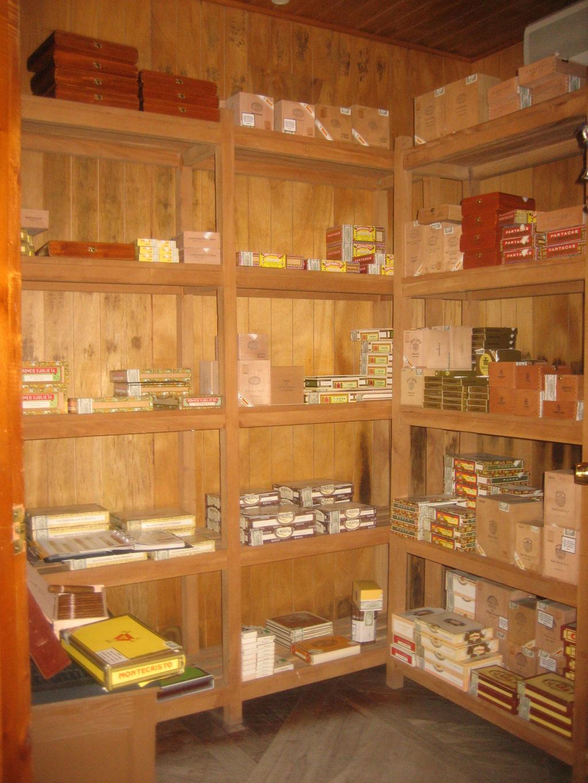 Shop in Cuba Selling Cigars